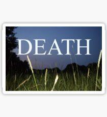 death death death!!!!!! Sticker