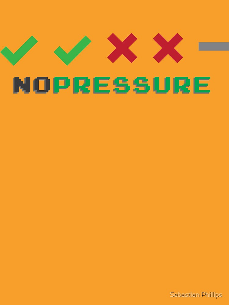 No Pressure Promotion Series by sebphillips