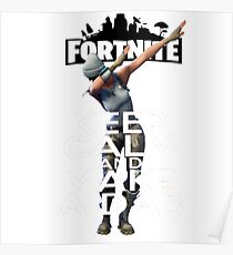Fortnite Make a dab Poster