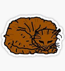 catwalk (in sleep modus) Sticker