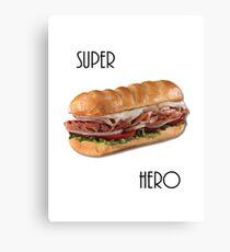 Super Hero Canvas Print