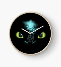 Toothless Clock