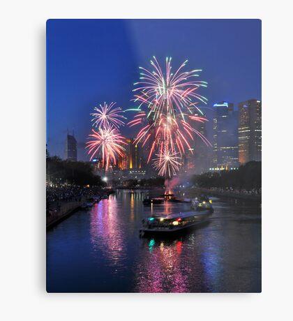 Fireworks #2 Metal Print