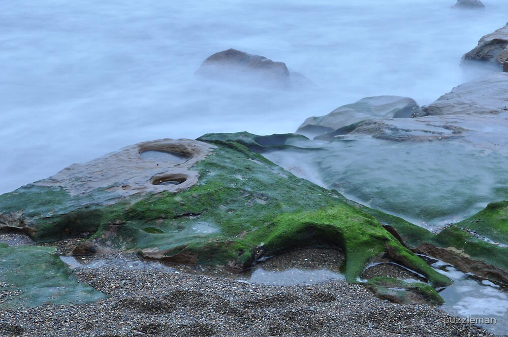 Green and misty by puzzleman