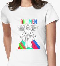 Amen, Ah - men Women's Fitted T-Shirt
