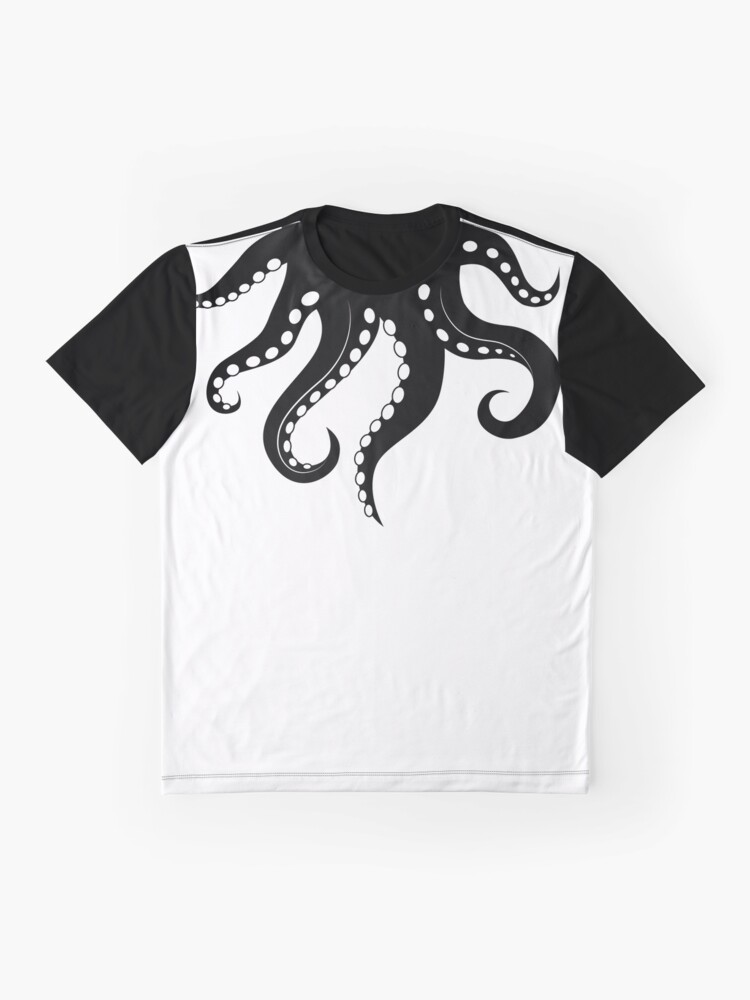 Alternative Ansicht von Octoshirt schwarz Grafik T-Shirt