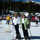 Skiing at Wolf Creek by Glenna Walker