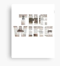 The Treme TV Series Metal Print