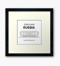 Russian Stadiums   Ekaterinburg Framed Print