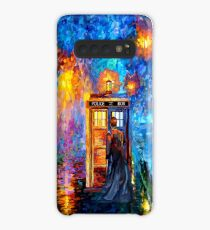 Mysterious Man at beautiful Rainbow Place Case/Skin for Samsung Galaxy