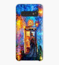 Funda/vinilo para Samsung Galaxy Hombre misterioso en el hermoso Rainbow Place