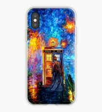 Mysterious Man at beautiful Rainbow Place iPhone Case