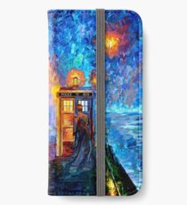 Mysterious Man at beautiful Rainbow Place iPhone Wallet/Case/Skin