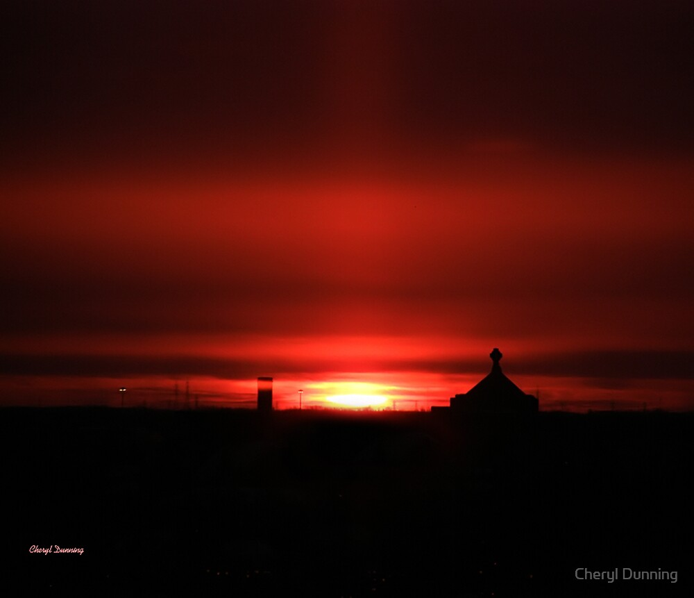 new years eve sunrise 2 by Cheryl Dunning