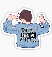 Positive Mental Attitude! Sticker