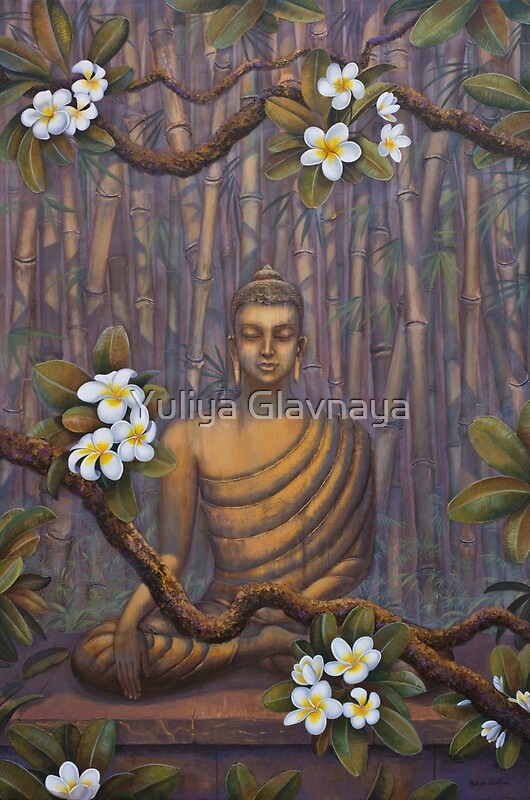Quot Nature Of Buddha Quot By Yuliya Glavnaya Redbubble
