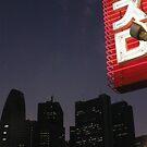 skyscraper shinjuku dusk by CathySurgeoner
