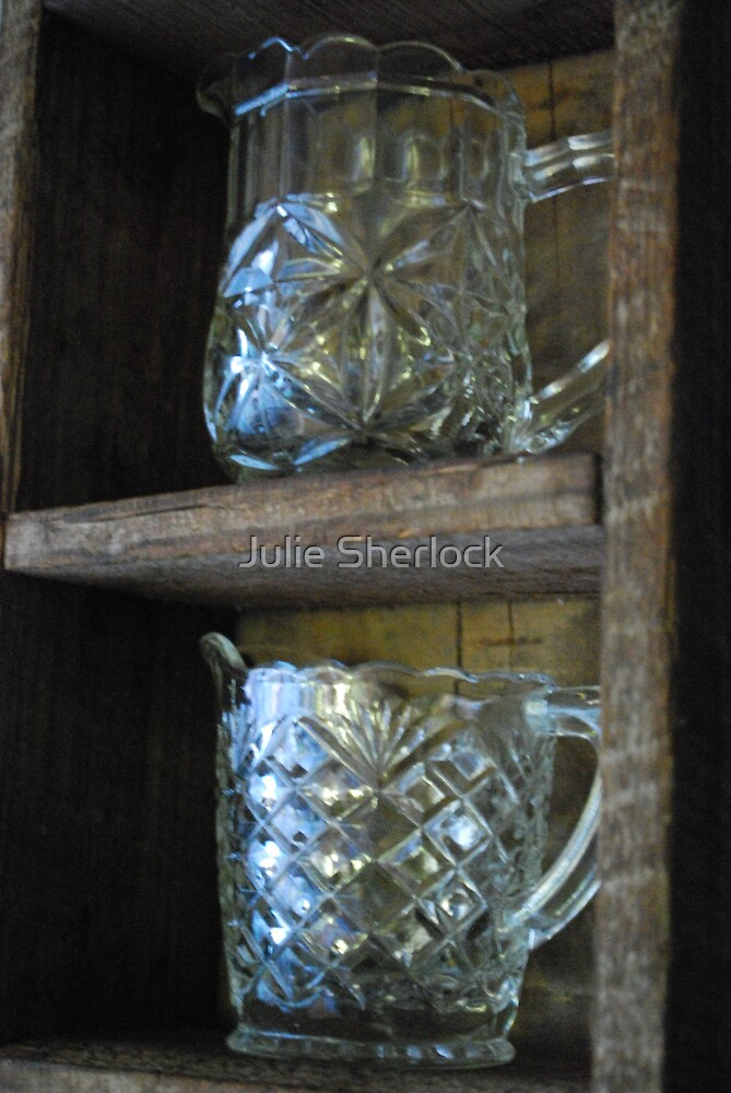 Glass jugs by Julie Sherlock