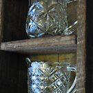Glass jugs by Julie Sherlock