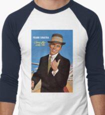 Frank Sinatra Legendaris of Singer Men's Baseball ¾ T-Shirt