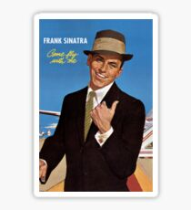 Frank Sinatra Legendaris of Singer Sticker