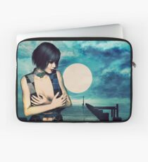 Into the mystic flow Laptop Sleeve