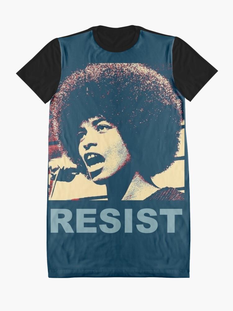 Alternative Ansicht von Angela -RESIST T-Shirt Kleid