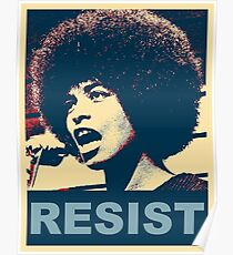 Angela -Resist Poster