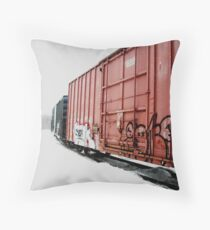 At the Old Brickyard 3:  Otter River MA Throw Pillow