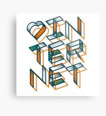 Heart Internet. Metal Print