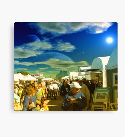 Art Show Canvas Print