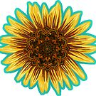 Mandala Sunflower by ShantyShawn