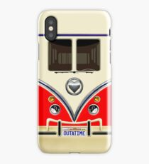 kawaii Red love bug mini bus iPhone Case/Skin