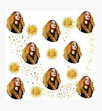Beyonce Golden QUeen Photographic Print