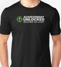 Achievement Unlocked Become An Aunt Unisex T-Shirt