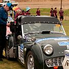 Pit Stop, Yankalilla Oval, Classic Adelaide Car Rally by SusanAdey