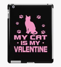 Cat is My Valentine iPad Case/Skin