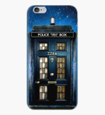 Detective Phone box with 221b number iPhone Case