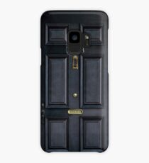 221b baker street black wood door Case/Skin for Samsung Galaxy