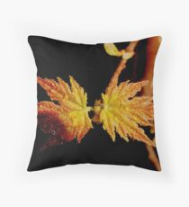 Poetic Beauty Throw Pillow