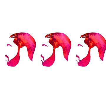 Drake watercolor  by paulam05