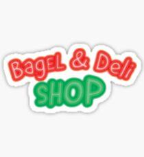 Bagel and Deli Sticker