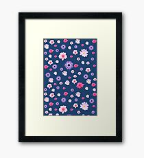 Mixed Roses and Other Flowers Framed Print