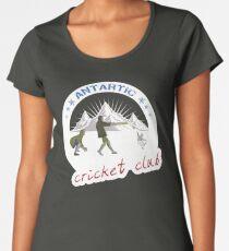 Antarctic Cricket Club Women's Premium T-Shirt