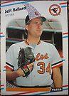 361 - Jeff Ballard by Foob's Baseball Cards
