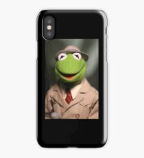 Kermit News 2 iPhone Case