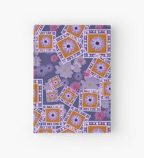 Mixture of Roses and Other Flowers Hardcover Journal