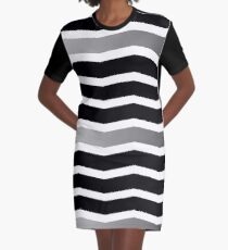 The Zig to your Zag Graphic T-Shirt Dress