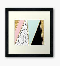 Pastel evanescent tones Framed Print