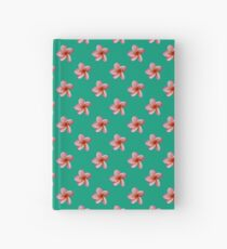 Pink Frangipani Hardcover Journal